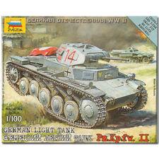 Zvezda 6102 alemán Luz Tanque Snap Fit Kit Modelo 1:100