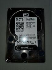 WD Black 5TB Performance Desktop Hard Disk Drive - 7200 RPM SATA 6Gb/s WD5001FZW