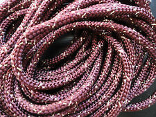 "Bolo Cord 36"" Maroon and Gold specks (pkg 12) 0836 Rayon Cords"