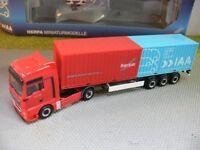 1/87 Herpa 907446 MAN TGX IAA Euro 6 Container HZ Herpa Sondermodell
