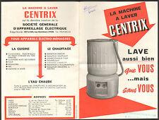 LYON PROSPECTUS MACHINE A LAVER CENTRIX