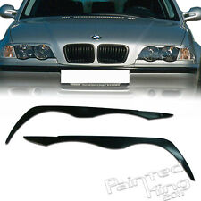 BMW E46 4D Sedan Headlight Eyebrows Eyelids 1998-2002