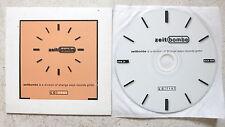 Zeitbombe – tick 000 Promo CD  Goethes Erbes - Schwanensee - Stalin - Neustart