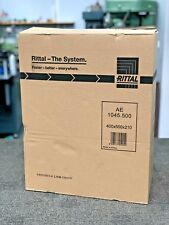 RITTAL MILD STEEL ELECTRICAL ENCLOSURE 600X760X210 IP66 AE1076
