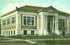 Waterloo,Ia. The West Side Library 1909