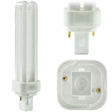 GE 26W PL CFL 2pin 2 tube 2700K CFL G24d-3 F26DBX/827/ECO 10 PACK