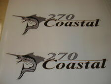 Wellcraft Coastal 270 Fishing Boat Decal Set