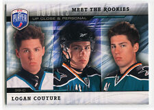 2009-10 Be A Player Meet the Rookies 8 Logan Couture Rookie 381/499