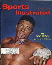 FLOYD PATTERSON SIGNED SPORTS ILLUSTRATED MAGAZINE 5/28/1962 PSA/DNA COA V67424