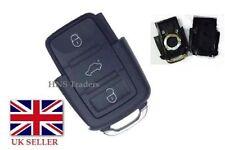 for VW Volkswagen 3 Button Remote Flip Key Fob Case Golf Bora Jetta Passat Polo
