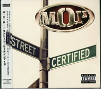 M.O.P.-STREET CERTIFIED-IMPORT CD WITH JAPAN OBI E25