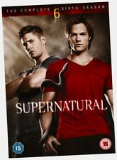 Supernatural Complete Six Series 6 Season 6 NEW DVD