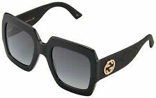 Gucci GG0102S 001 Sunglasses - Black