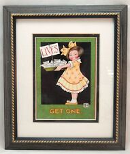 "Mary Engelbreit Ink Lives Get One 9.5"" x 11.25"" Framed Print Under Glass #6502"