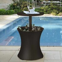 Keter Pacific Cool Bar Rattan Party Cooler in Brown FREE SHIPPING!!!!!!!