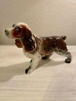 "Vintage California Will George Porcelain Cocker Spaniel Figurine 6.5"""