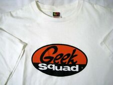 Geek Squad ® Best Buy ® White XL Extra Large T Shirt Cleaned