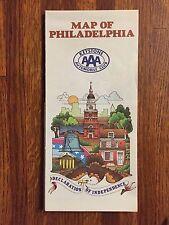 AAA Roadmap of Philadelphia 1984-1985