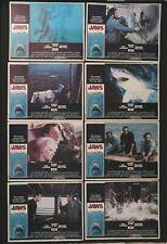 Jaws 11x14 original lobby cards 1-8