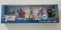 "DC Justice League 5-Pack~Batman/Superman/Wonder Woman/Joker/Batman 3"" Figures"