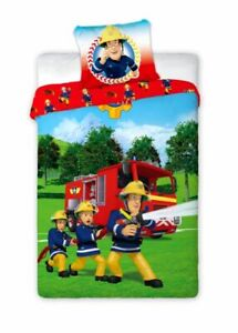 Fireman Sam Rescue Children Bedding 140x200 CM