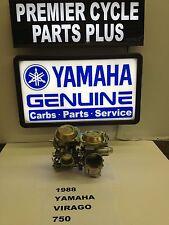 1988 YAMAHA VIRAGO XV 750 SET OF MIKUNI CARBS CARBURETORS