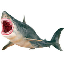 Simulate Megalodon Shark Ocean Animal Figure Collector Toy Gift US SHIP