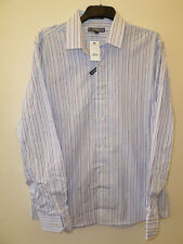 EXPRESS, EXTRA LARGE, 17/17.5, STRIPED SHIRT,MULTI COLOUR,MODERN FIT, L SLEEVE