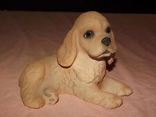 Vintage Limited Ed Dog 1991 Lenox Fine Porcelain Cocker Spaniel Puppy