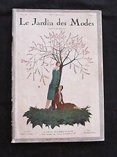 Catalogue Le Jardin des Modes Avril 1923 A.E. Marty J. Patou Chanel J. Lanvin