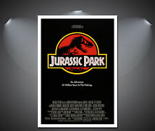 Jurassic Park Vintage Movie Large Poster - A0, A1, A2, A3, A4 sizes