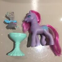 My Little Pony G2 Euro Windsong Wind Song with bird accessories vintage 90s