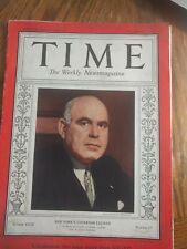 Time Weekly Magazine Dec.31,1934                 Lot #150