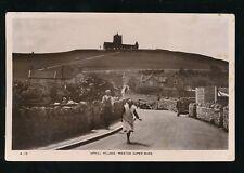 Somerset Weston-super-Mare UPHILL Village 1938 RP PPC H J Series