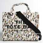 MARC JACOBS Peanuts X The Traveler Tote Bag Women Cotton Handbag Shoulder Strap