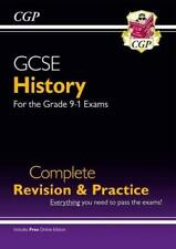 New GCSE History Complete Revision & Practice -  by CGP Books New Paperback Book