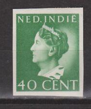 Nederlands Indie 281 MLH PROEF ONGETAND Netherlands Indies Wilhelmina 1941