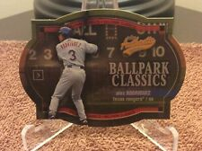 New listing 2003 Fleer Authentix Baseball Alex Rodriguez Ballpark Classics 6 of 10 BC Ex++
