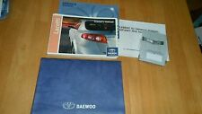 CHEVROLET LACETTI OWNERS MANUAL AND WALLET 2005