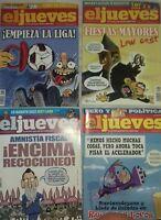LOTE 29 Revistas El Jueves 2010 2017
