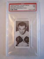 1938 PAULINO UZCUDUN BOXING CHURCHMAN PSA GRADED 7 NEAR - MINT CARD