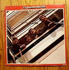 THE BEATLES - 1962-1966 Apple Records SKBO 3403 2 LP Vinyl Insert* STERLING LH*