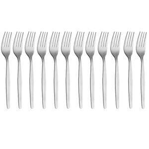 12 x OSLO Stainless Steel Dinner Forks 195mm