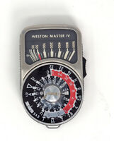 Weston Master IV Light meter Modified For Daguerrean and Dry Plate Photography
