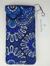 NWT Vera Bradley SUNGLASS SLEEVE Blue Tapestry readers case eye eyeglass case