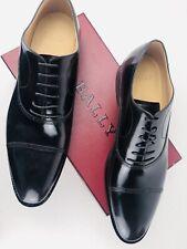 Bally Switzerland Atos Moka Calf Oxford Men Brogues Shoe RRP €790 Size 11UK/EU46