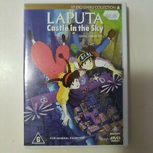 Laputa - Castle In The Sky DVD VGC Rated G Anime Classic Movie 🍿 Region 4 Aus