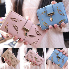 Femmes Mode Bifold Wallet Leather Clutch Card Purse Holder Sacs à main