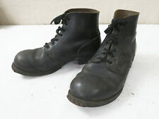 Typ Wehrmacht Leder Stiefel Knöchelstiefel Panzerstiefel Gr.43 low ankle boots