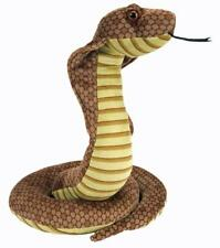 Cobra Snake soft plush toy 14'/36cm stuffed animal Cuddlekins Wild Republic NEW